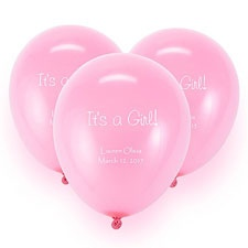 Pink Custom Balloon