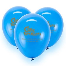 Royal Blue Custom Balloon