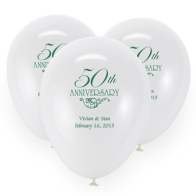 White Custom Balloon