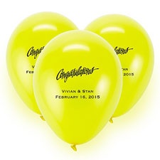 Yellow Custom Balloon