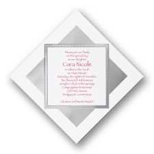 Reflection Bar and Bat Mitzvah Invitation