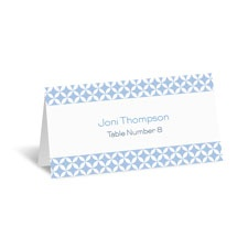 Beautiful Geometry Place Card