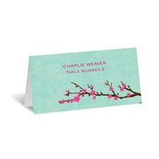 Cherry Blossoms Place Card