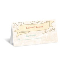 Vintage Promises Place Card