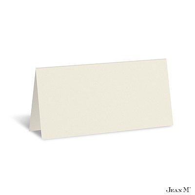 Blank Place Cards  Weddings on Home    Wedding Stationery    Place Cards    Ecru Place Card   Blank