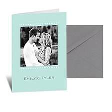 We Do Photo Note Card and Envelope