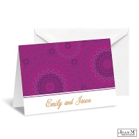 Moroccan Mosaic Note Card and Envelope