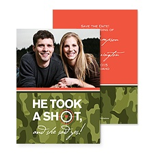 On Target Photo Save the Date