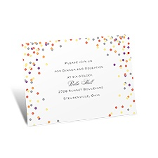 Dotting Around Reception Card
