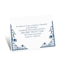 Flourishing Love Reception Card