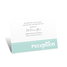 We Do Reception Card
