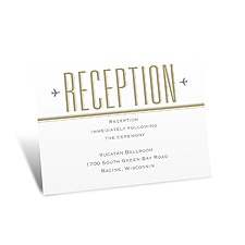 Led By Love Reception Card