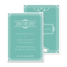 Romantic Style Save the Date