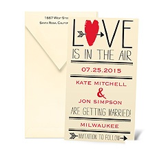 Love is in the Air Save the Date