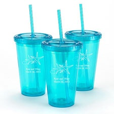 Teal Personalized Tumbler