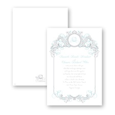 Fairy Tale Filigree Wedding Invitation