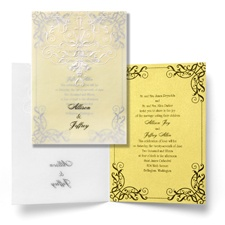 Love's Transformation Wedding Invitation - Belle