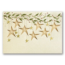 Star Bright Holiday Card