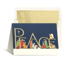 Come in Peace Holiday Card