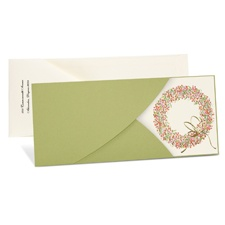 Wreath Wrap Holiday Card