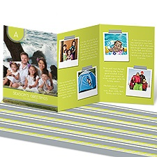 Lettered Storyline Photo Holiday Card - Margarita