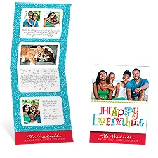 Happy Everything Storyline Photo Holiday Card