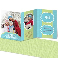 Merry Memories Photo Holiday Card