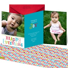 Happy Everything Photo Holiday Card