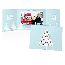 Trim the Tree Photo Holiday Card