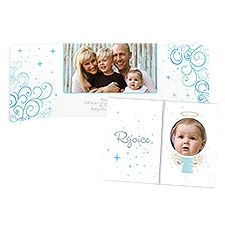 Rejoice Photo Holiday Card