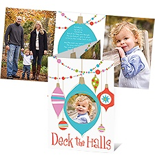All Lit Up Photo Holiday Card