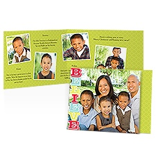 Believe Storyline Photo Holiday Card
