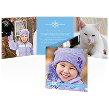 Snowy Scene Photo Holiday Card