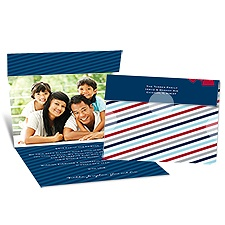 Special Gift Seal and Send Photo Holiday Card - Midnight