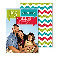 Joyful Messages Photo Holiday Card - Spanish