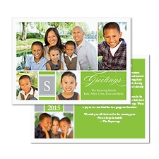 Great Greetings Photo Holiday Card - Spring