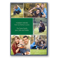 Images Layered Photo Holiday Card
