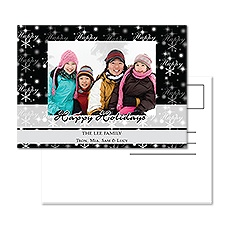 Happy Night Photo Holiday Postcard