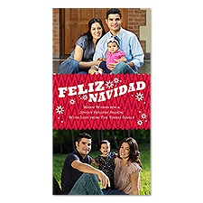 Feliz Navidad Photo Holiday Card