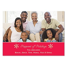 Happiest Photo Holiday Card
