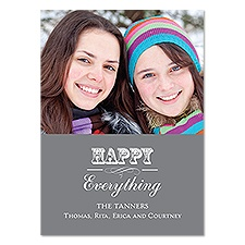 Be Happy Photo Holiday Card