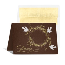 Doves of Peace Holiday Card