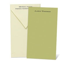Color Your World Olive Note Card