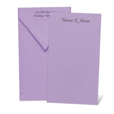 Color Your World Orchid Note Card