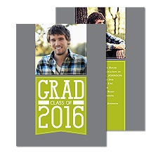 Grad Banner Photo Graduation Announcement