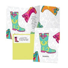 Puddle Jumping Note Card