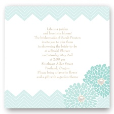 Garden Fresh Bridal Shower Invitation