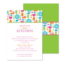 Get Cooking Bridal Shower Invitation