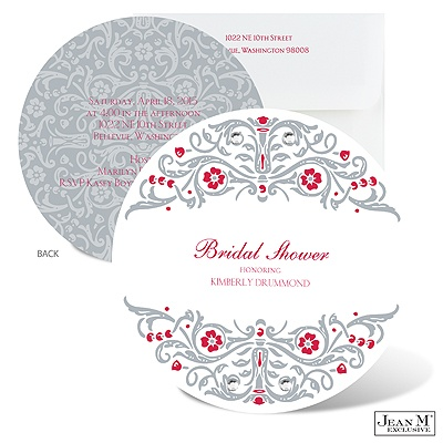 ... Bridal Shower · Floral Flourishes Bridal Shower Invitation - Velvet