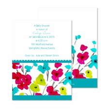 Blooming Bright Baby Shower Invitation